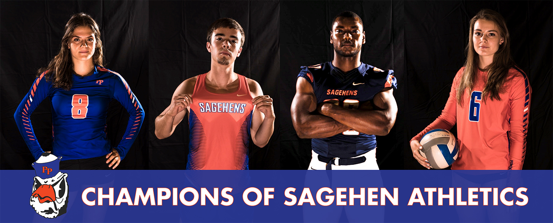 Champion of Sagehen Athletics Banner