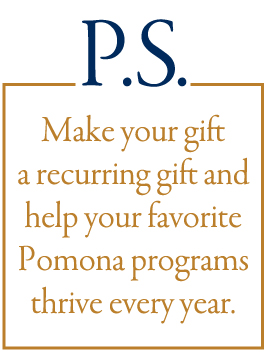 Make your gift a recurring gift.
